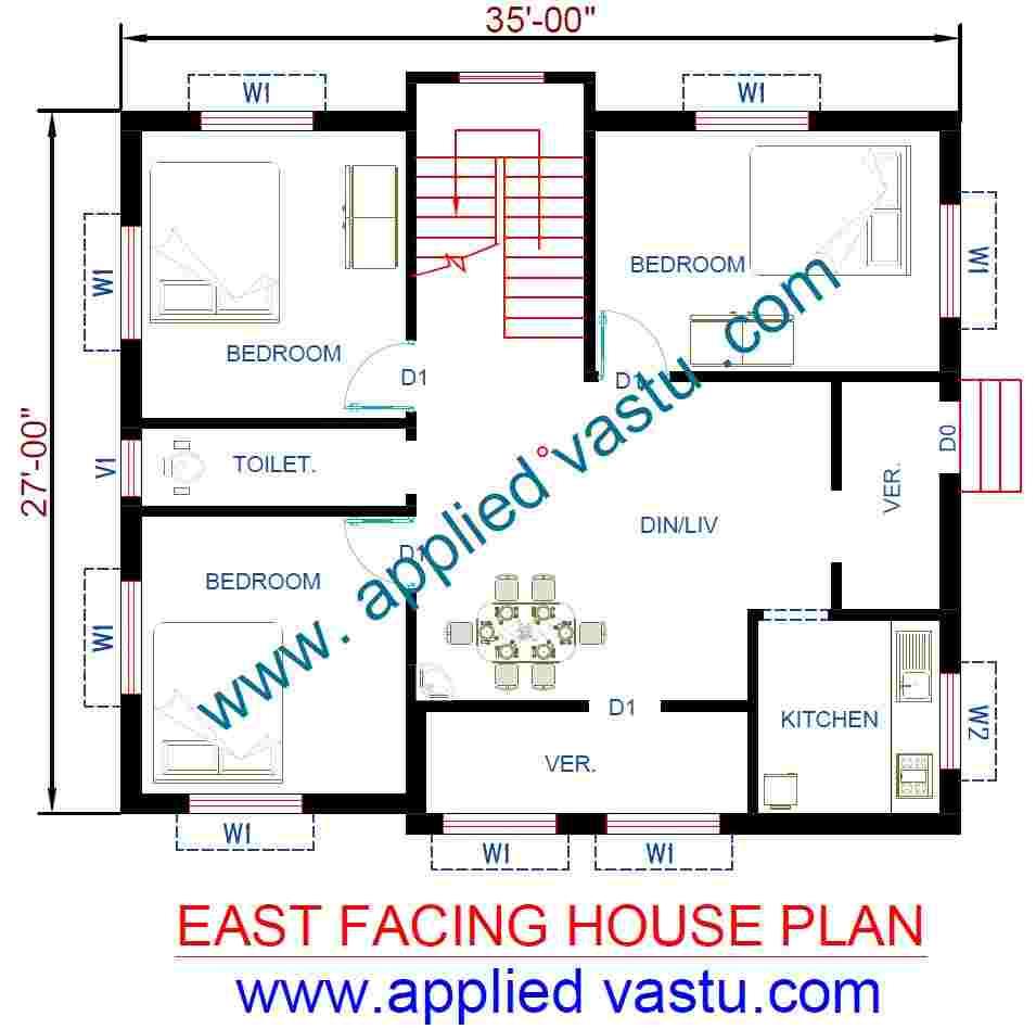 east facing house plan east facing house vastu plan